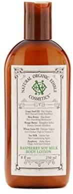 Noë Cosmetics Natural Organic Edible Cosmetics Raspberry Soy Milk Body Lotion