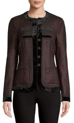 Givenchy Prince De Galle Wool Jacket