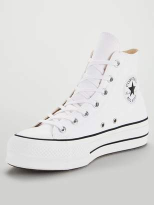 172bd307954a9a at Littlewoods · Converse Chuck Taylor All Star Lift Hi - White