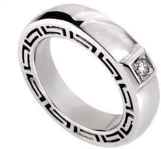 Versace 18K 0.18 Ct. Tw. Diamond Ring