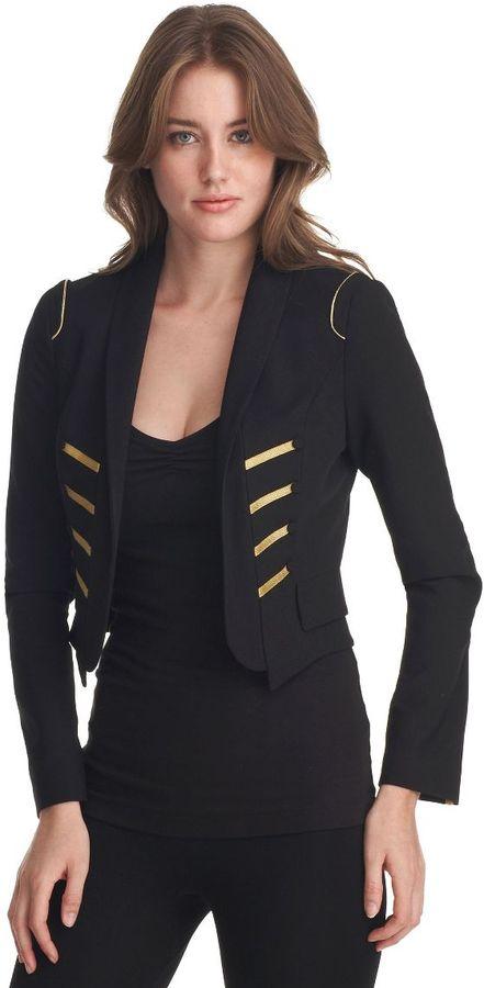 Abs by allen schwartz cropped matador jacket