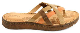 Børn Buta Leather Slide Sandals