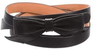 Louis Vuitton Skinny Bow Waist Belt