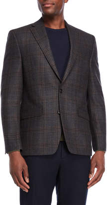 Lauren Ralph Lauren Windowpane Wool Sport Coat
