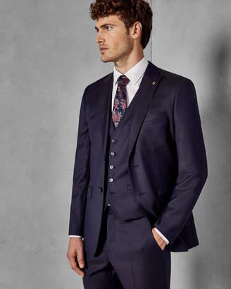 Ted Baker AMBANW Debonair slim fit pin dot wool waistcoat