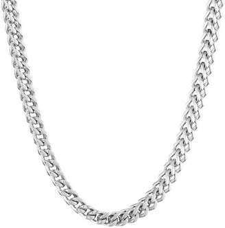 JCPenney FINE JEWELRY Mens Stainless Steel 30 6mm Foxtail Chain
