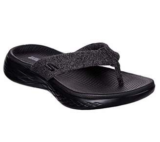 238b8fb1821 Skechers Black Sandals For Women - ShopStyle UK
