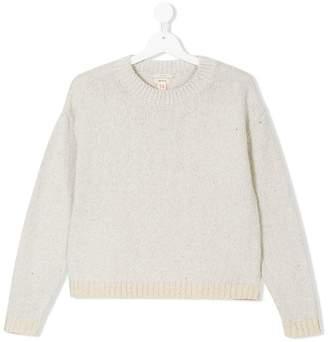 Bellerose Kids two-tone knit jumper