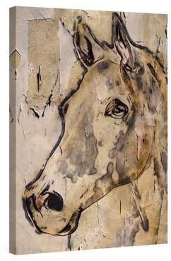 Marmont Hill Winner Horse Painting Painting Print on Wrapped Canvas