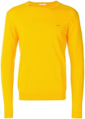 Sun 68 neck detail sweater