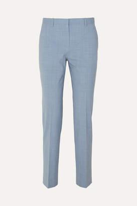 Theory Stretch-wool Pants - Light blue