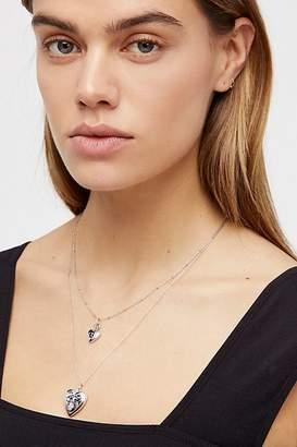 Jette Joop Valen + Double Locket Necklace