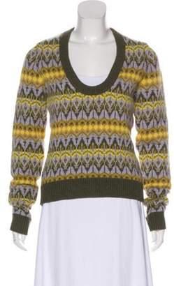 Michael Kors Cashmere Medium-Weight Sweater Purple Cashmere Medium-Weight Sweater