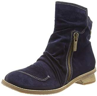 Tiggers Women's Ilona Cold Lined Classic Boots Short Length Blue Size: 5