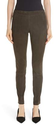 Lafayette 148 New York Brooklyn Suede Pants