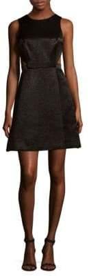 Halston Sleeveless Fit-&-Flare Dress