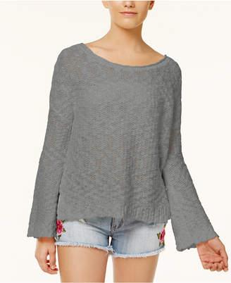Roxy Juniors' Open-Back Sweater