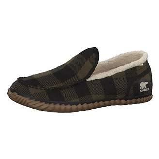 Columbia Sorel Sorel Dude Moc, Men's Low-Top Slippers, Multicolor (Black/Green), 12 UK (46 EU)