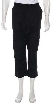 G Star Cropped Drop-Crotch Pants