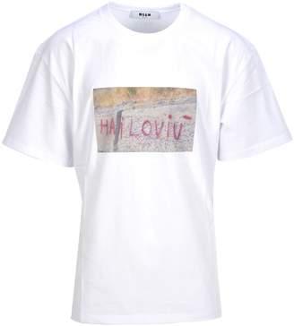 MSGM Tshirt I Love U