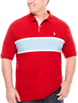 U.S. Polo Assn. USPA Short-Sleeve Polo - Big & Tall