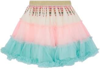Billieblush Tassle Mesh Tutu Skirt