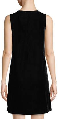 Lilla P Sleeveless Velvet A-line Dress