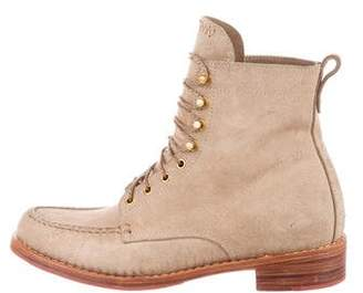 Visvim Suede Lace-Up Boots w/ Tags