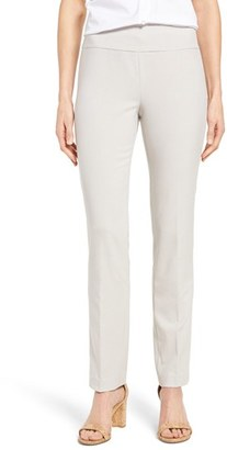Women's Nic+Zoe Stretch Knit Slim Leg Pants $108 thestylecure.com