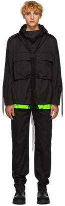 Craig Green Black Fold Hood Jacket