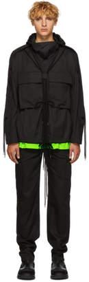 Craig Green Black Fold Hood Jacket