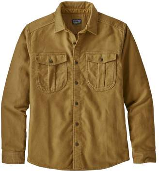 Patagonia Men's Long-Sleeved Topo Canyon Moleskin Shirt