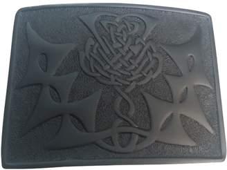 Celtic AAR Scottish Kilt Belt Buckle Thistle knot Design Finish