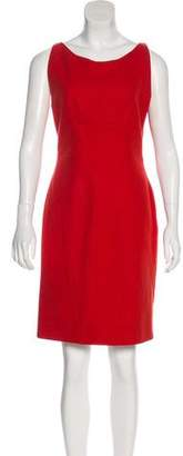 Brian Reyes Wool Knee-Length Dress