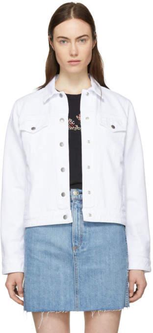 White Nico Denim Jacket
