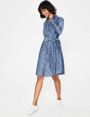 931706198cc Boden Blue Fitted Day Dresses - ShopStyle
