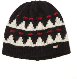 4f7f4546cc7a Saint Laurent Jacquard Knit Wool Beanie - Mens - Black