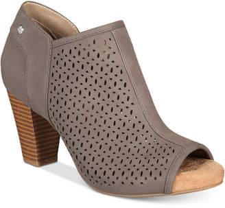 Giani Bernini Angye Perforated Peep-Toe Shooties, Created for Macy's Women's Shoes