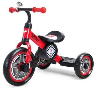 Mini Licensed Cooper Trike With Chunky 10 Inch Wheels Red