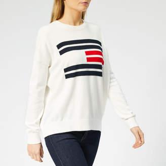 Tommy Hilfiger Women's Essential Flag Crewneck Sweater