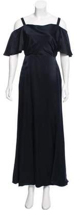 Temperley London Silk Off-The-Shoulder Dress