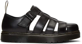 Dr. Martens Black Vibal Sandals