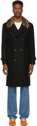 Wacko Maria Black Mafia Coat
