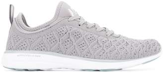 Fly London Apl knit lace-up sneakers
