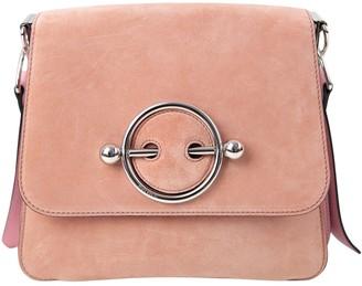 J.W.Anderson Disc Pink Suede Handbag