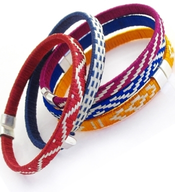 Mercedes Salazar - Small Colombia Woven Bracelet *10 Colors*