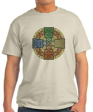 Celtic CafePress Cross Earth-Air-Fire-Water - 100% Cotton T-Shirt