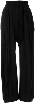 Barbara I Gongini wide leg cropped trousers