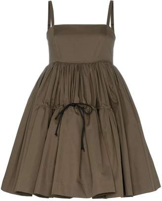 Molly Goddard Philippa drawstring ruffle dress