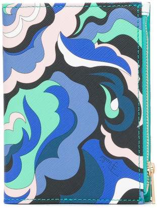 Emilio Pucci abstract print document holder